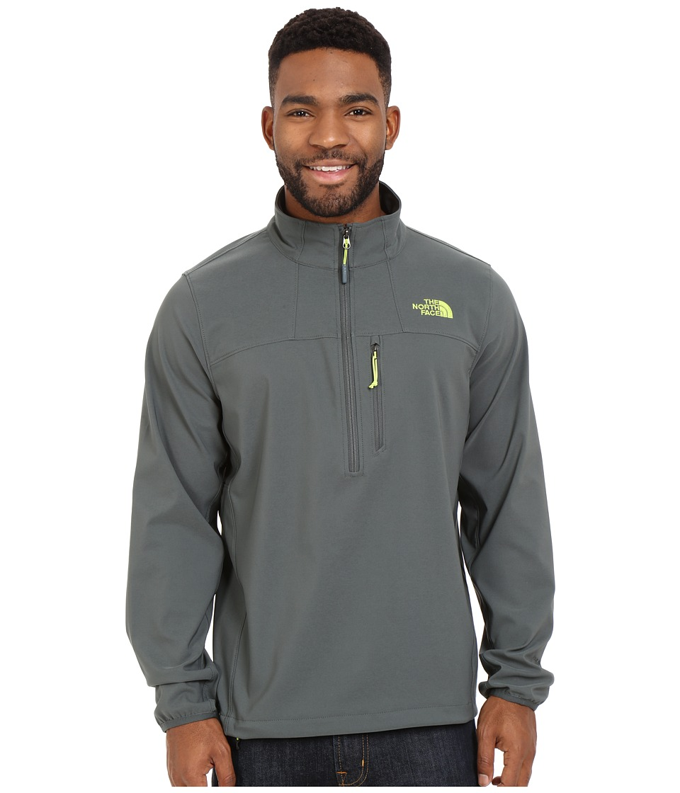 The North Face - Nimble 1/2 Zip Jacket (Spruce Green/Spruce Green) Men's Long Sleeve Pullover