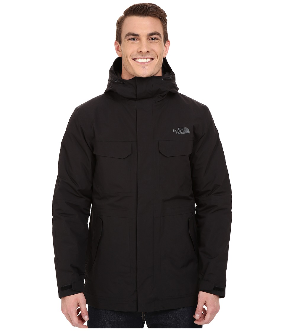 The North Face - Grays Harbor Insulated Parka (TNF Black) Men's Coat