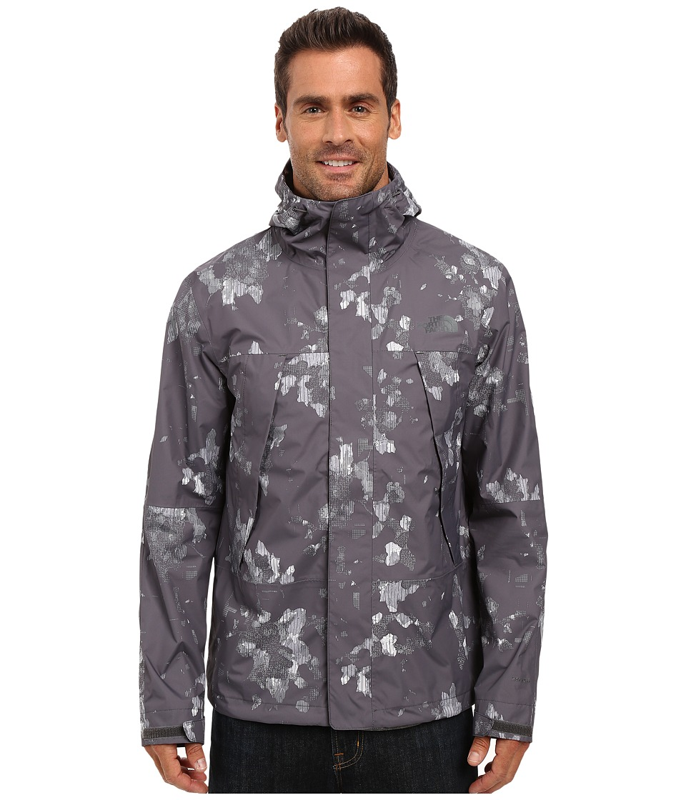 The North Face - Metro Mountain Jacket (Graphite Grey Floral Camo) Men's Coat
