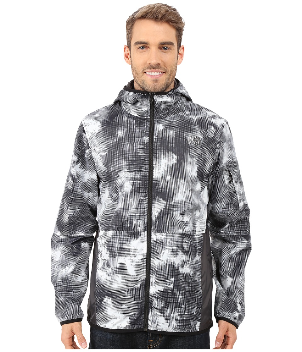 The North Face - Chicago Wind Jacket (TNF Black Cirrus Print) Men's Coat