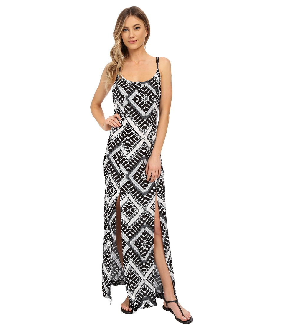 Hurley Poppy Maxi Dress (Black T) Women