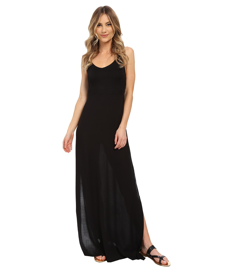 Hurley - Ruby Maxi Dress (Black) Women's Dress