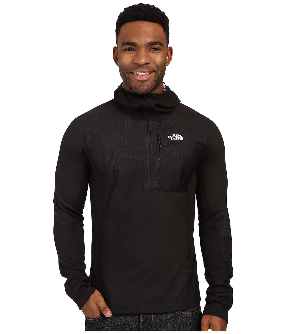 The North Face - FuseForm Dolomiti 1/4 Zip Hoodie (TNF Black Fuse) Men's Sweatshirt