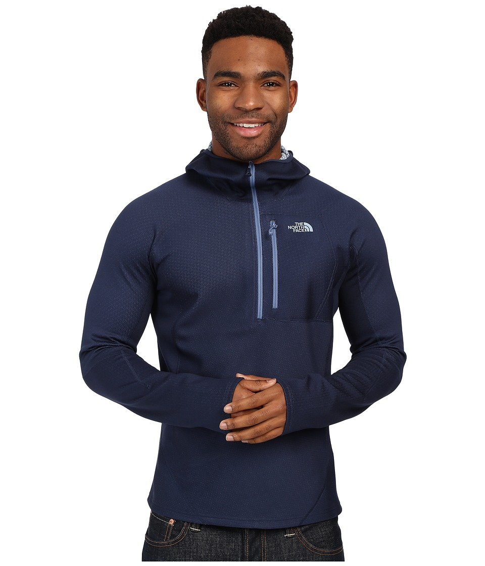 The North Face - FuseForm Dolomiti 1/4 Zip Hoodie (Cosmic Blue Fuse) Men's Sweatshirt