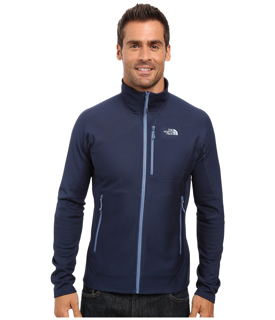 The North Face - FuseForm Dolomiti Full Zip (Cosmic Blue Fuse) Men's Long Sleeve Pullover