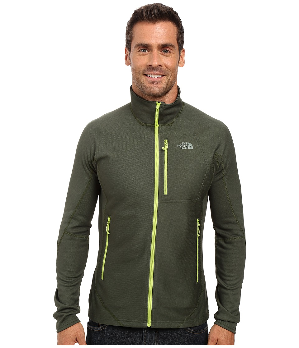 The North Face - FuseForm Dolomiti Full Zip (Spruce Green Fuse) Men's Long Sleeve Pullover