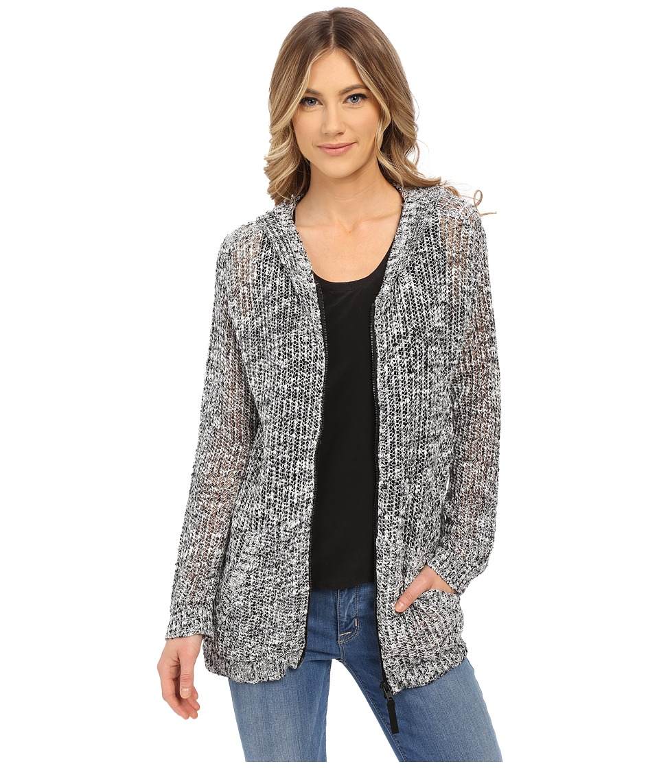 Hurley - Laslo Hooded Cardigan (Off-White) Women's Sweater