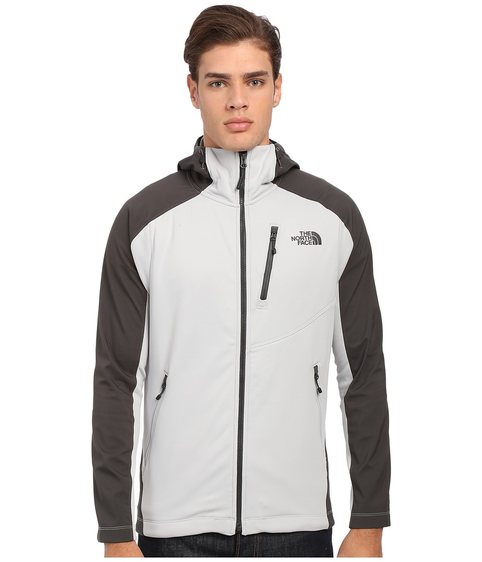 The North Face - Tenacious Hybrid Hoodie (High Rise Grey/Asphalt Grey) Men's Sweatshirt