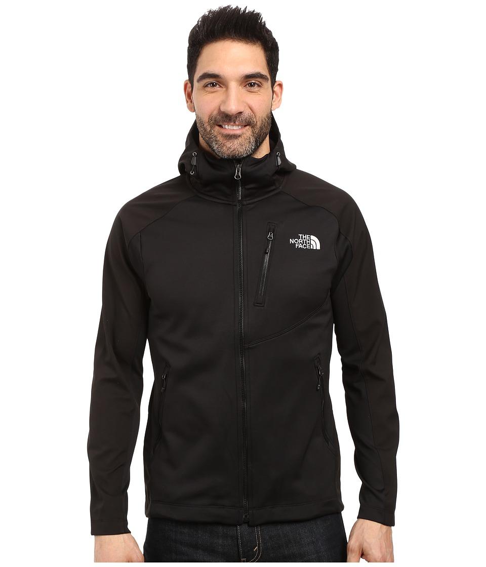 The North Face - Tenacious Hybrid Hoodie (TNF Black/TNF Black) Men's Sweatshirt