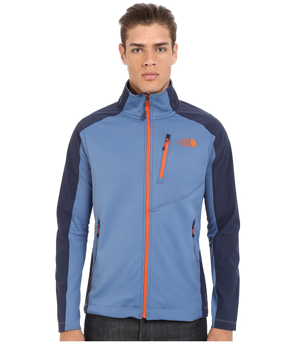 The North Face - Tenacious Hybrid Full Zip (Moonlight Blue/Cosmic Blue) Men's Coat