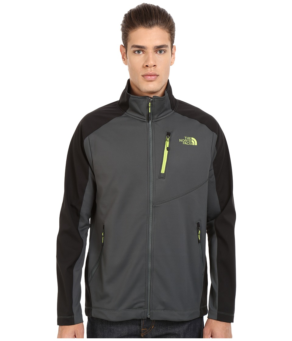 The North Face - Tenacious Hybrid Full Zip (Spruce Green/TNF Black) Men's Coat