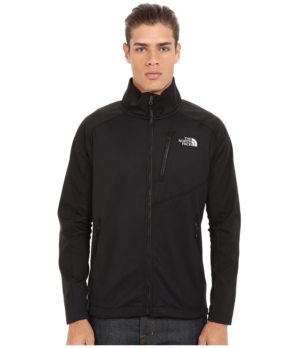 The North Face - Tenacious Hybrid Full Zip (TNF Black/TNF Black) Men's Coat