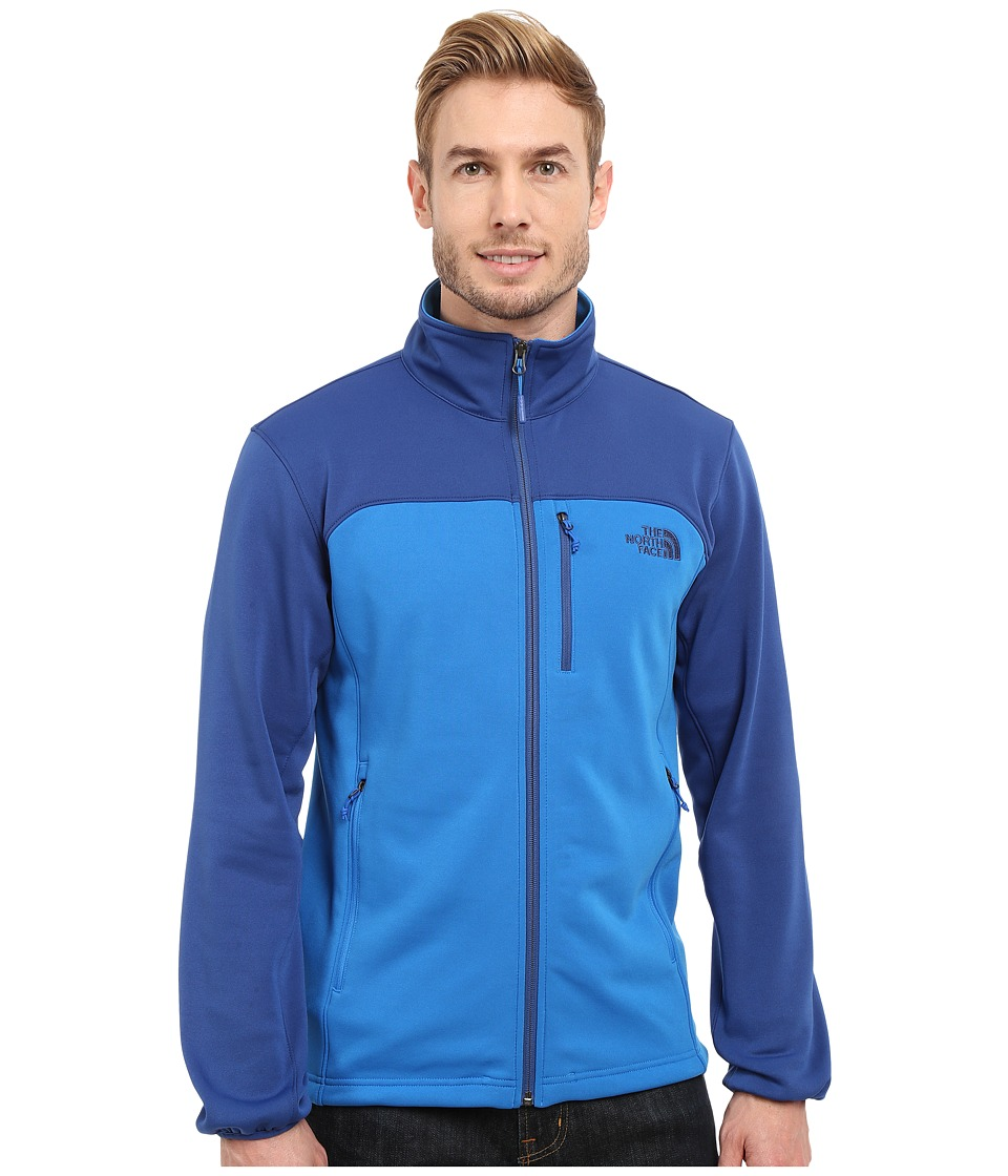 The North Face - Momentum Jacket (Bomber Blue/Limoges Blue) Men's Coat
