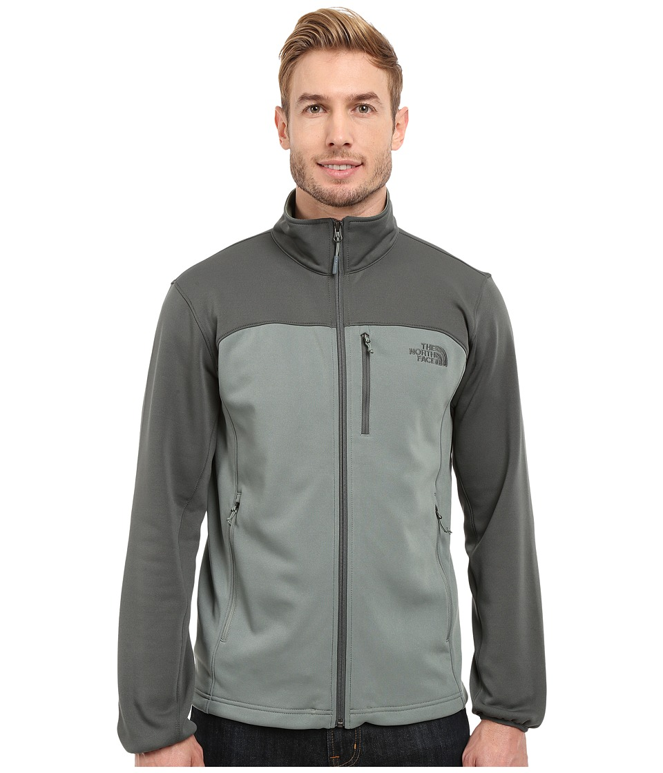 The North Face - Momentum Jacket (Laurel Wreath Green/Spruce Green) Men's Coat