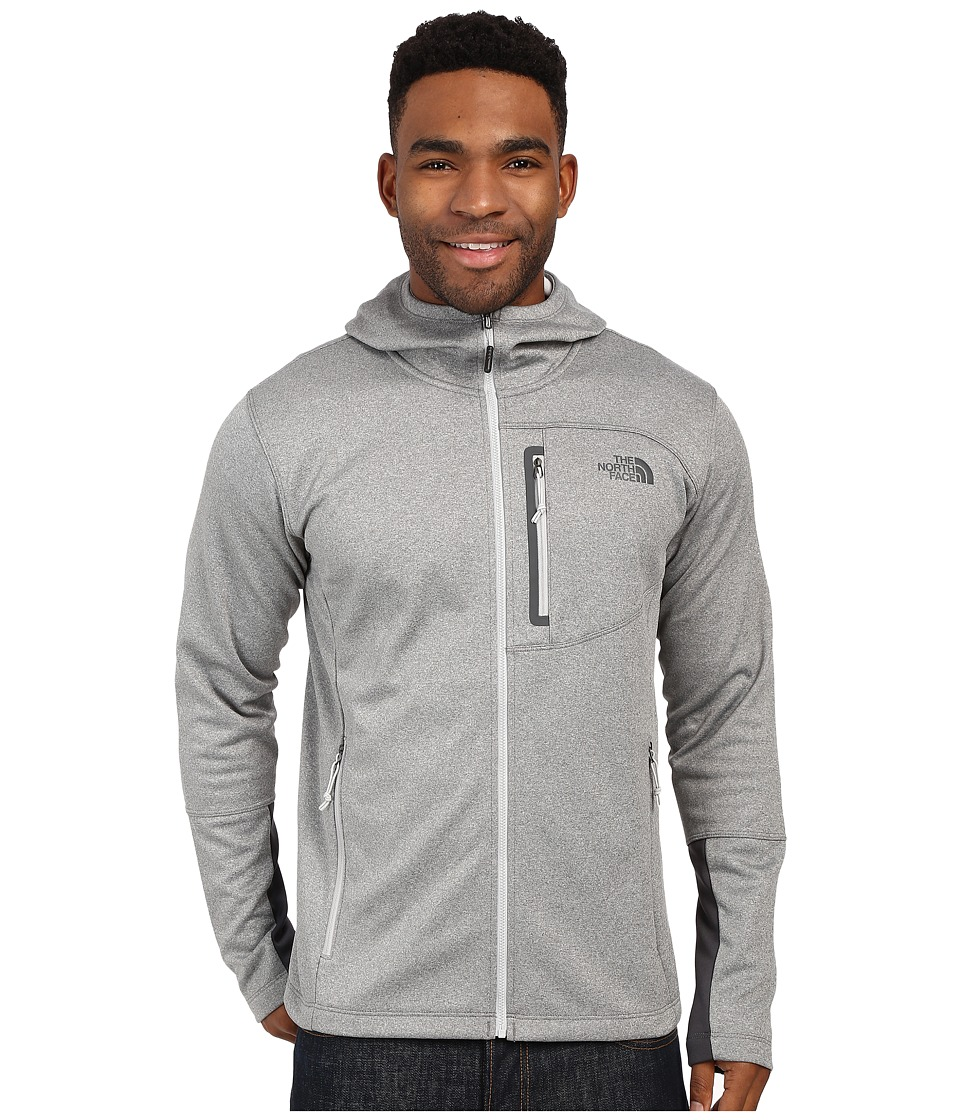 The North Face - Canyonlands Hoodie (High Rise Grey Heather/Asphalt Grey) Men's Sweatshirt