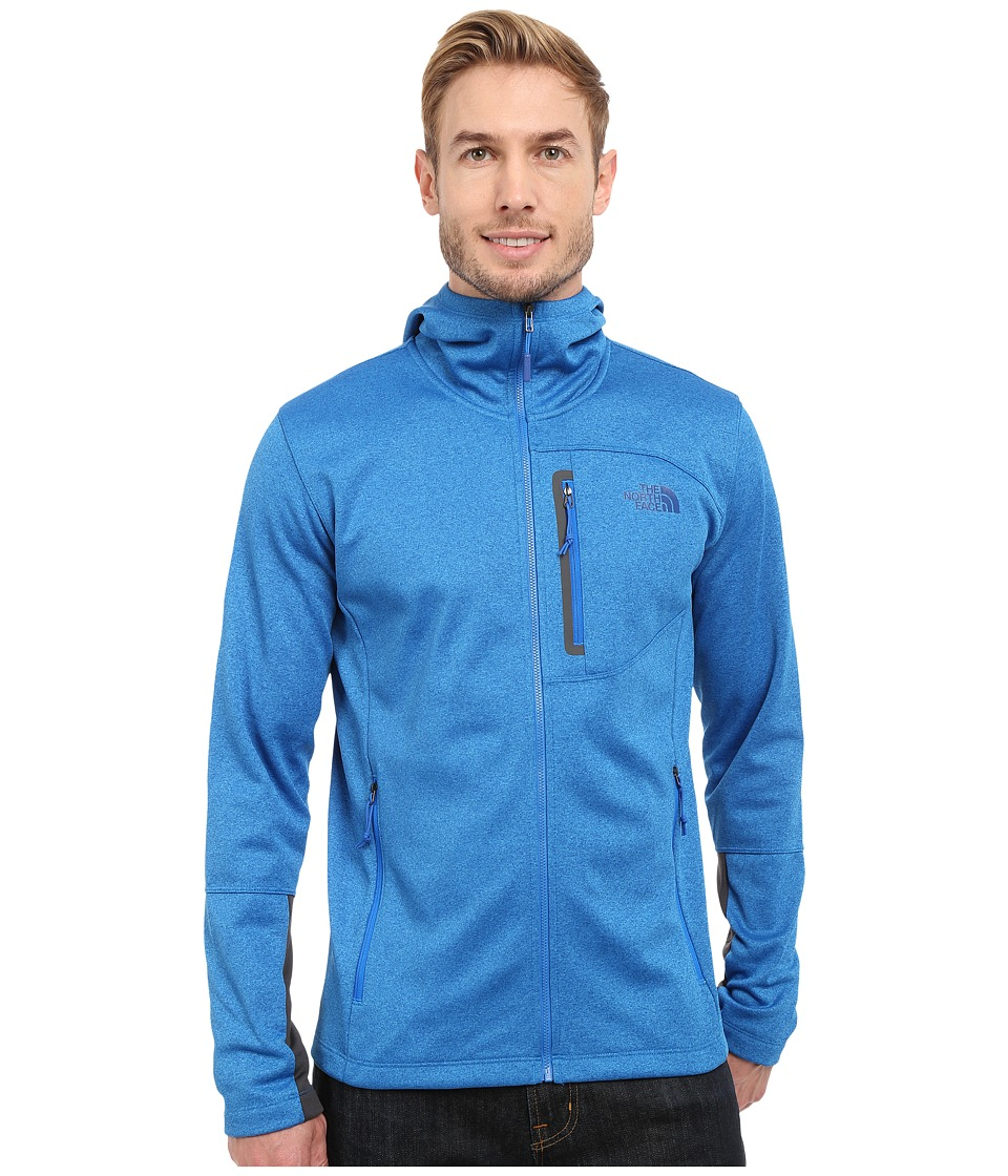 The North Face - Canyonlands Hoodie (Bomber Blue Heather) Men's Sweatshirt