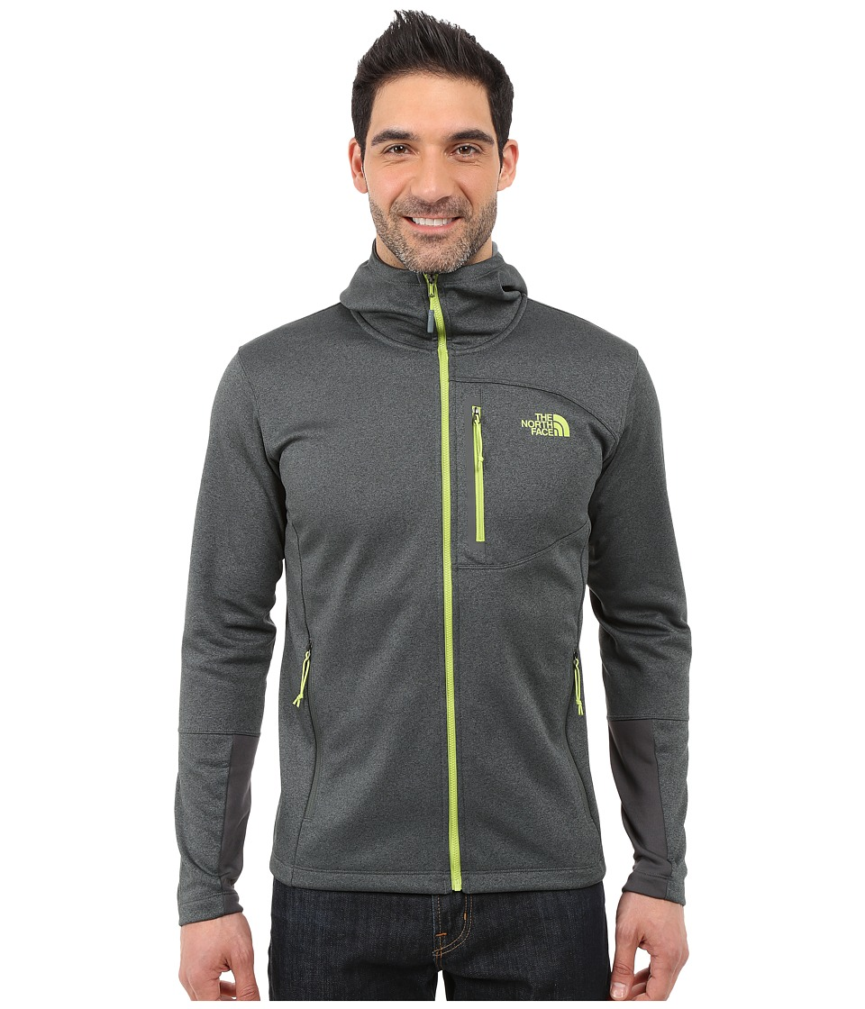 The North Face - Canyonlands Hoodie (Spruce Green Heather/Macaw Green) Men's Sweatshirt