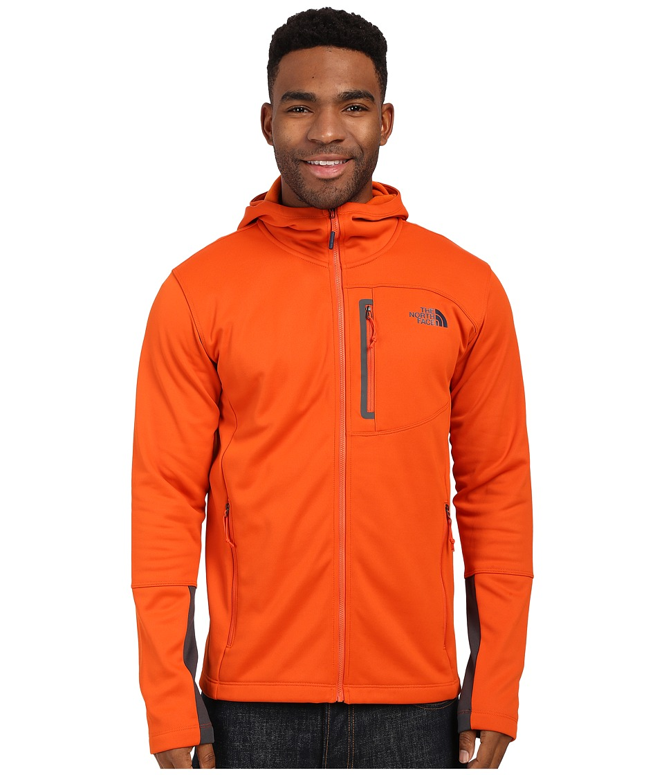 The North Face - Canyonlands Hoodie (Papaya Orange) Men's Sweatshirt