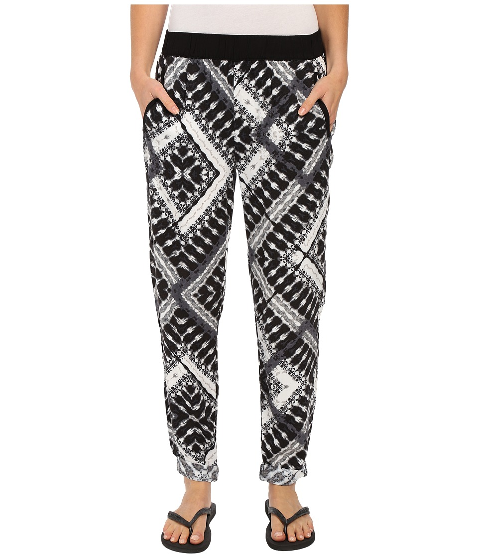 Hurley - Azure Beach Pants (Black T) Women's Casual Pants