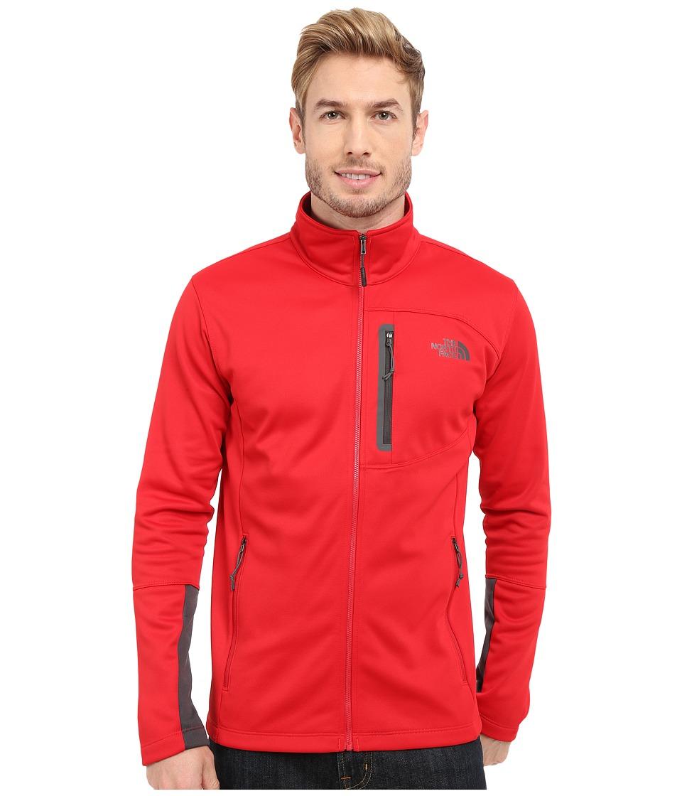The North Face - Canyonlands Full Zip Sweatshirt (TNF Red) Men's Coat