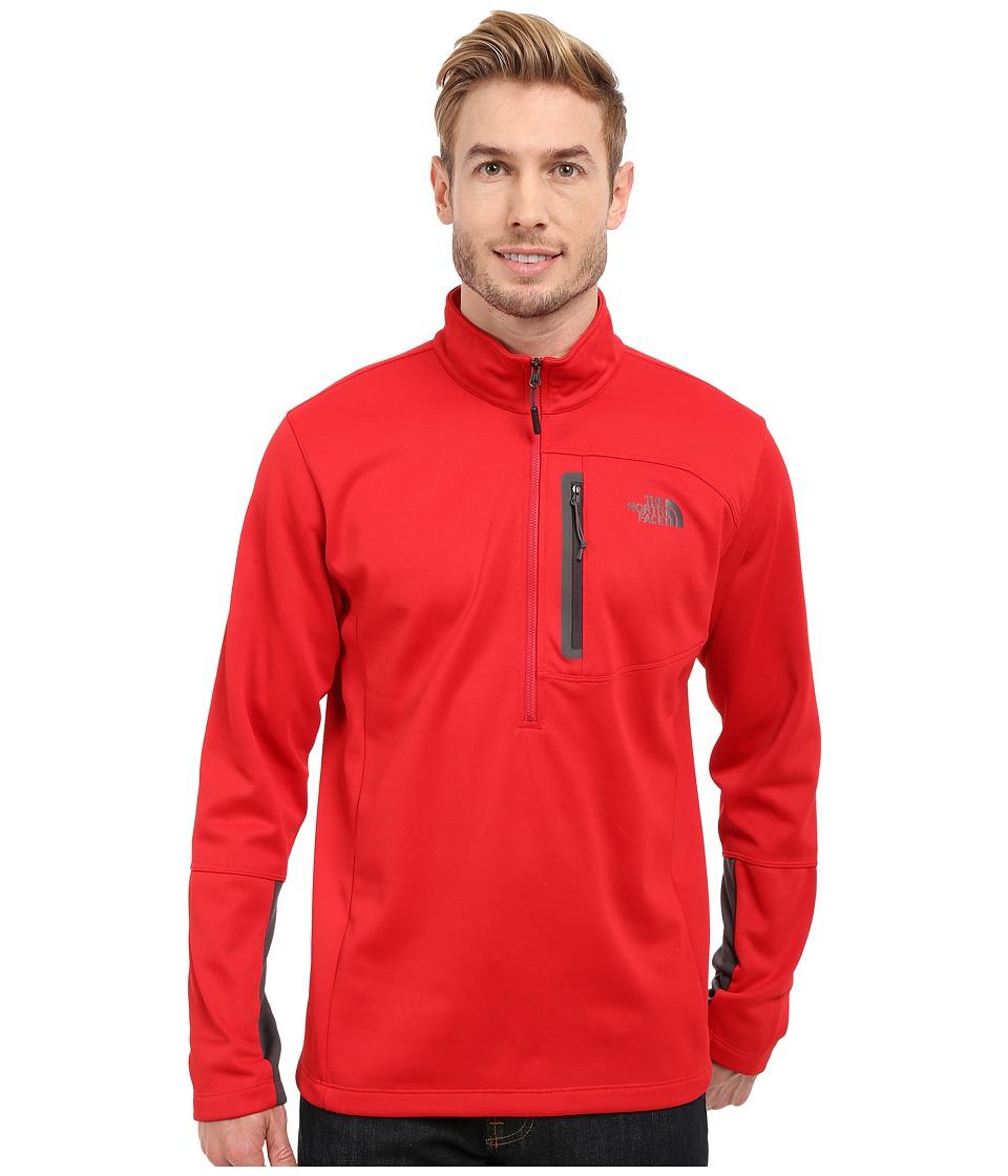 The North Face - Canyonlands 1/2 Zip Pullover (TNF Red) Men's Sweatshirt
