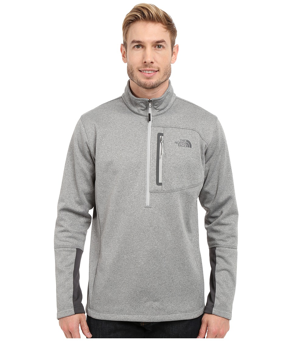The North Face - Canyonlands 1/2 Zip Pullover (High Rise Grey Heather/Asphalt Grey) Men's Sweatshirt