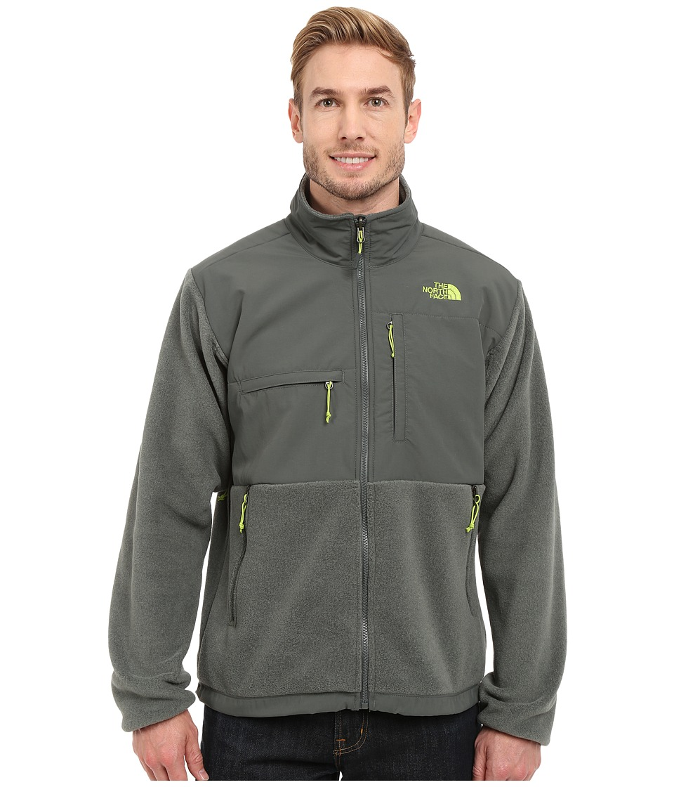 The North Face - Denali Jacket (Recycled Spruce Green Heather/Spruce Green) Men's Coat