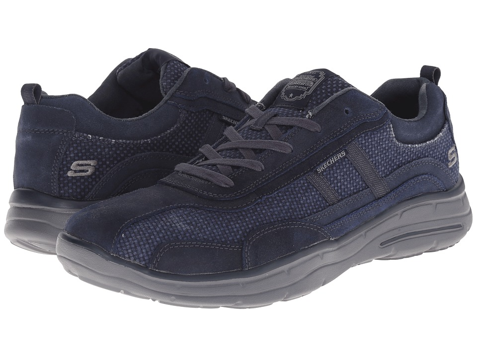SKECHERS - Relaxed Fit Glides - Status (Navy) Men