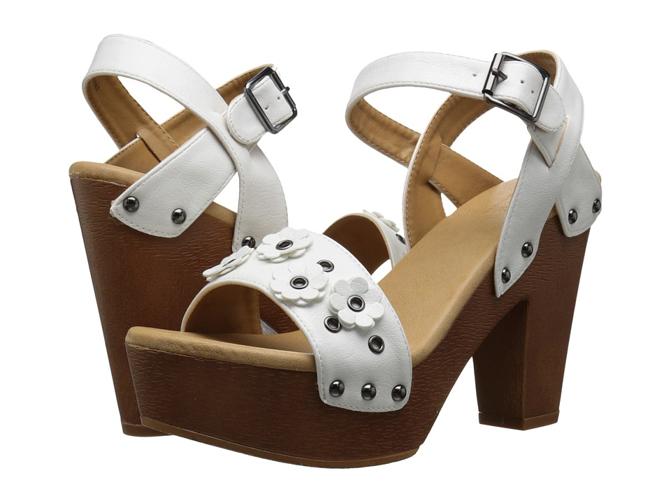 DOLCE by Mojo Moxy - Joanna (White) High Heels