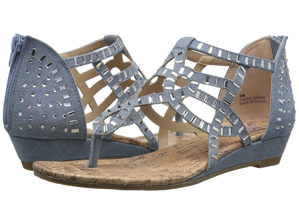DOLCE by Mojo Moxy - Crystal (Denim) Women's Sandals
