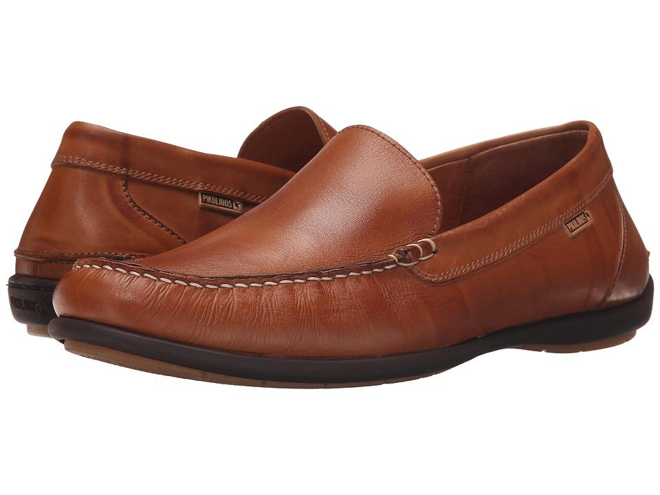 Pikolinos - Costa Rica M6D-3061 (Brandy) Men's Slip on Shoes