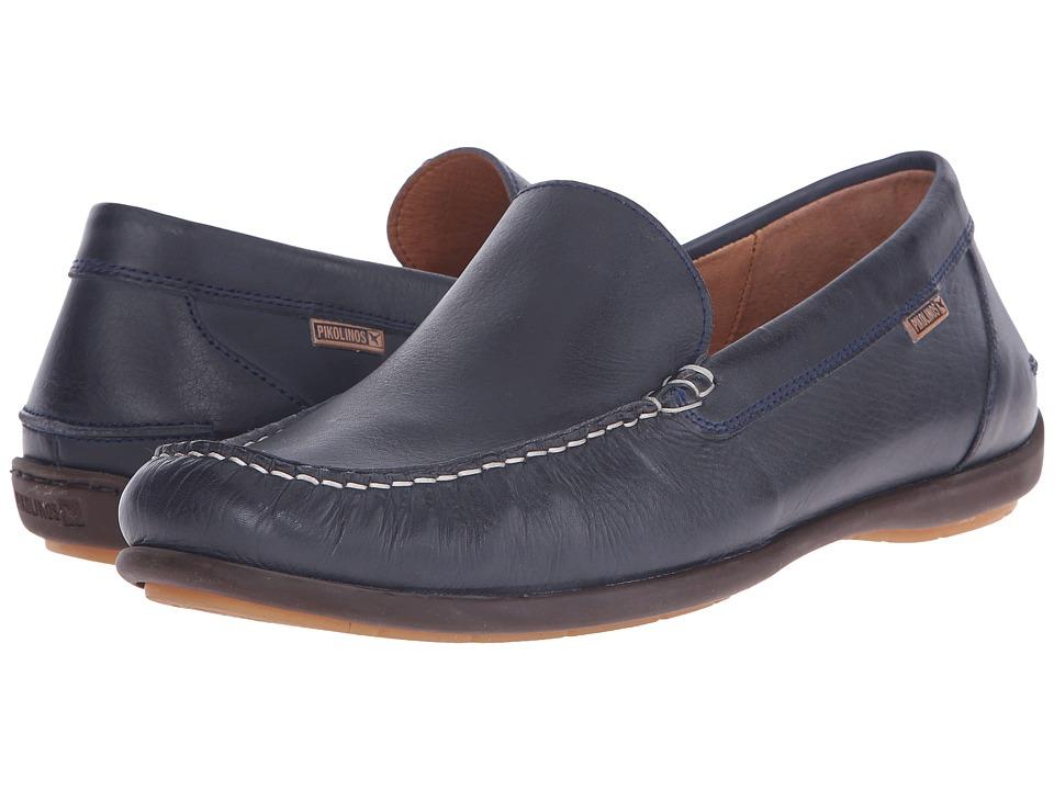 Pikolinos - Costa Rica M6D-3061 (Navy Blue) Men's Slip on Shoes