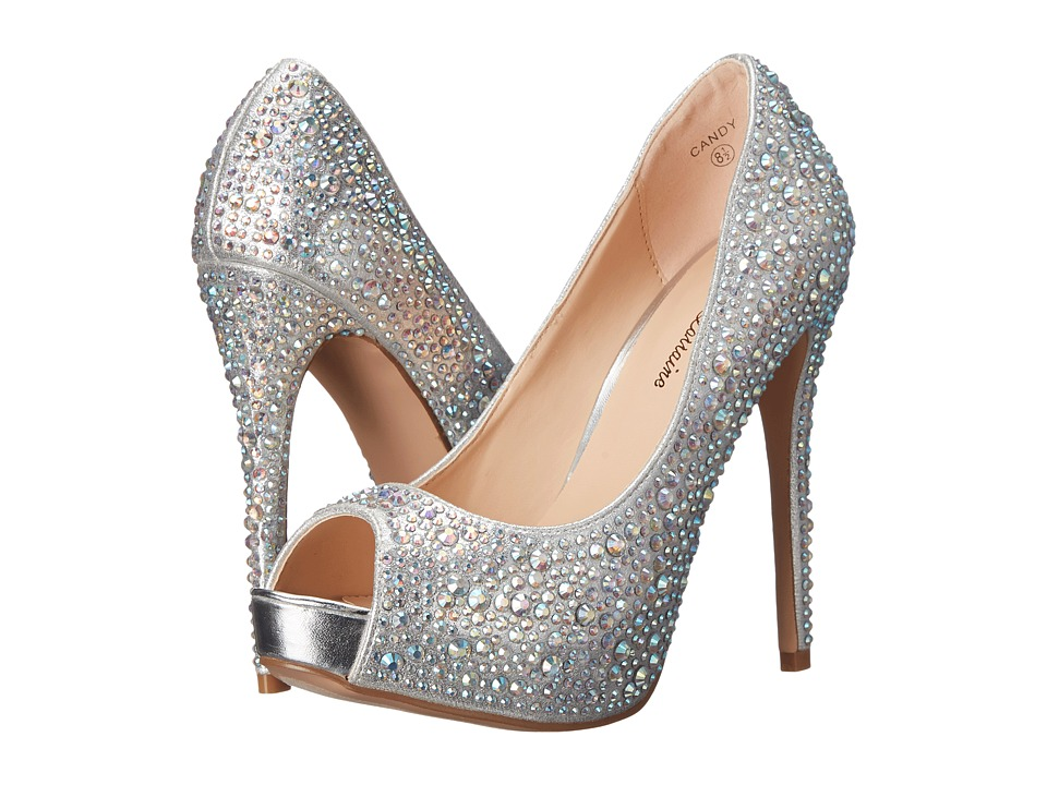 Lauren Lorraine - Candy (Silver Candy) High Heels