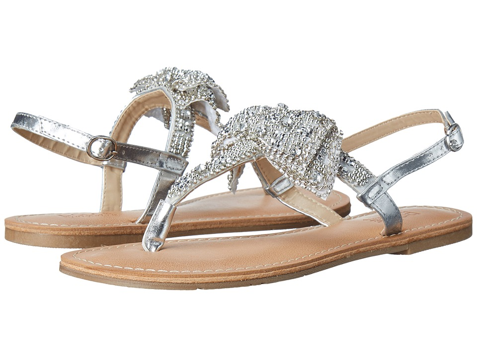 DOLCE by Mojo Moxy - Siesta (Silver) Women's Sandals