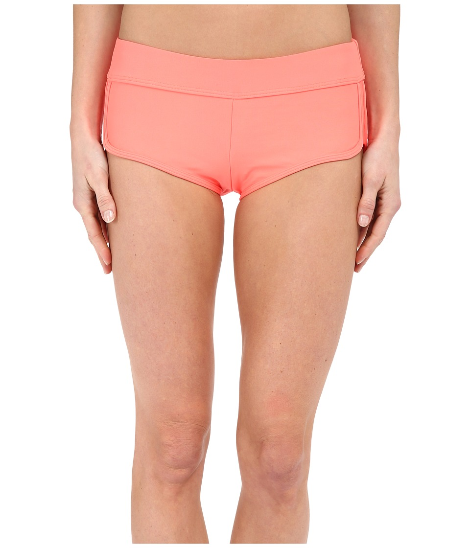 Next by Athena - Good Karma Banded Shorts (Electric Orange) Women's Swimwear