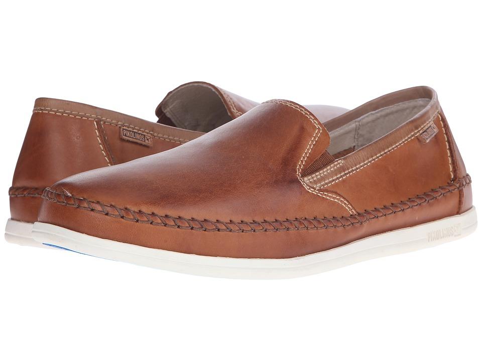 Pikolinos - Tulum M9C-3042 (Brandy/Olmo) Men's Slip on Shoes