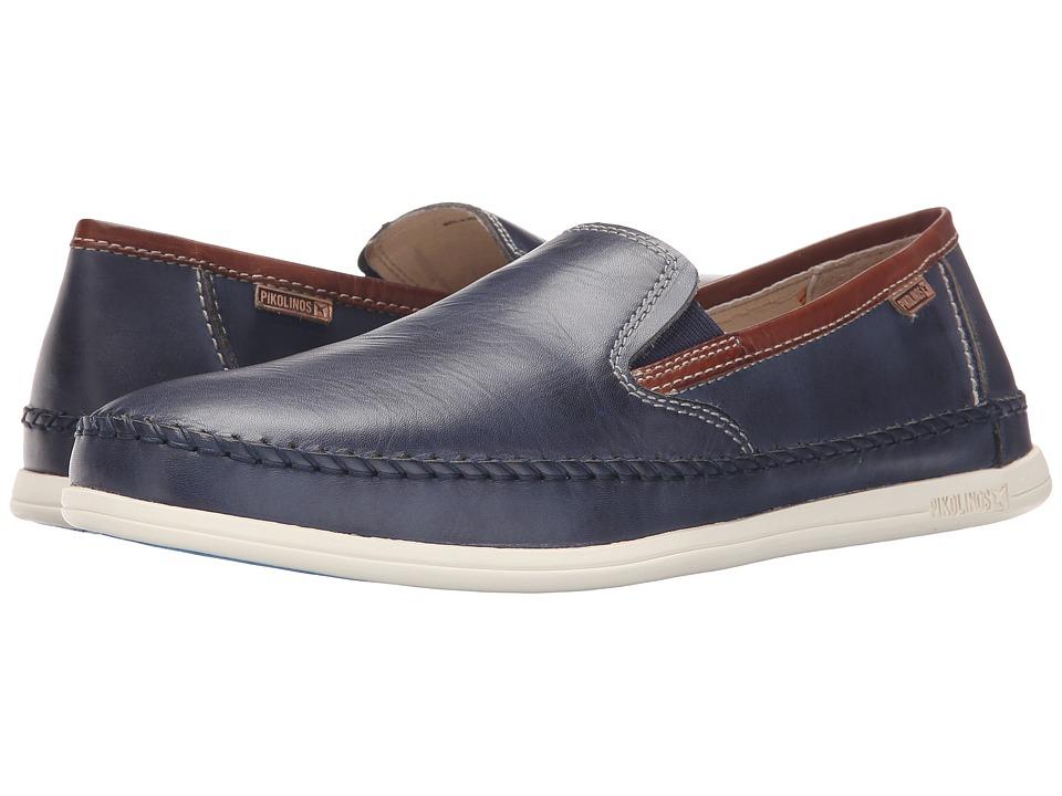 Pikolinos - Tulum M9C-3042 (Nautic/Cuero) Men's Slip on Shoes