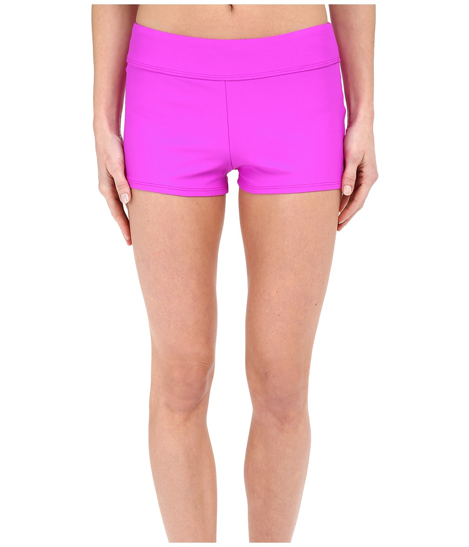 Next by Athena - Good Karma Jump Start Swim Shorts (Berry) Women