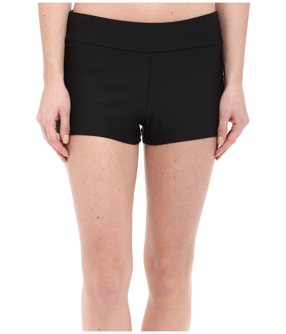 Next by Athena - Good Karma Jump Start Swim Shorts (Black) Women's Swimwear