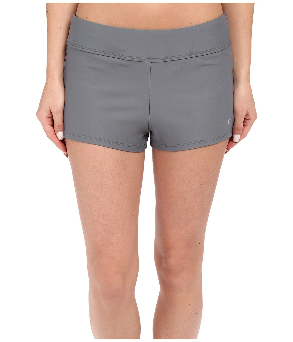 Next by Athena - Good Karma Jump Start Swim Shorts (Grey) Women's Swimwear