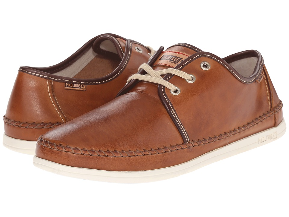 Pikolinos - Tulum M9C-4055 (Brandy) Men's Lace up casual Shoes