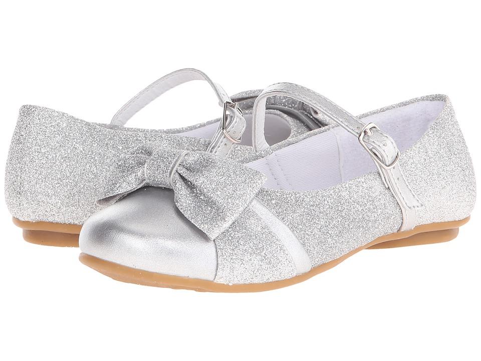 Pampili - Angel 10.271 (Toddler/Little Kid/Big Kid) (Prata) Girl's Shoes