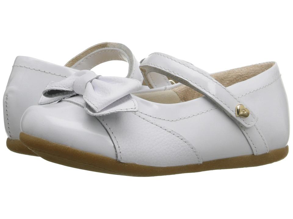 Pampili - Lara Sapato 248.128 (Infant/Toddler) (Branco) Girl's Shoes