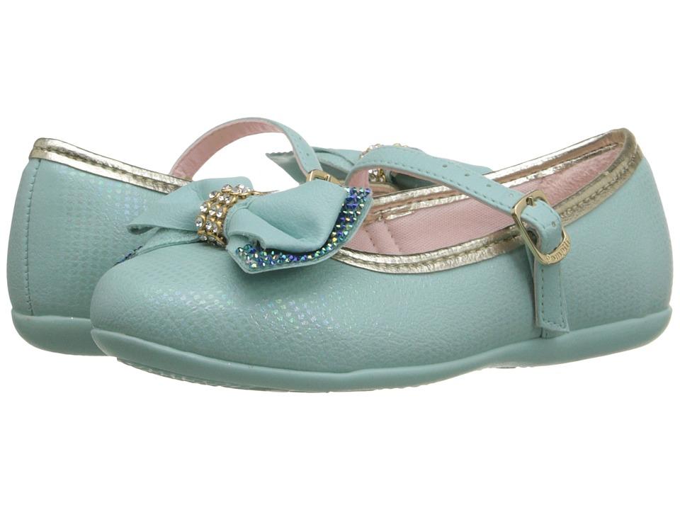 Pampili - Ballarina 188.251 (Toddler/Little Kid) (Azul Bebe) Girl's Shoes