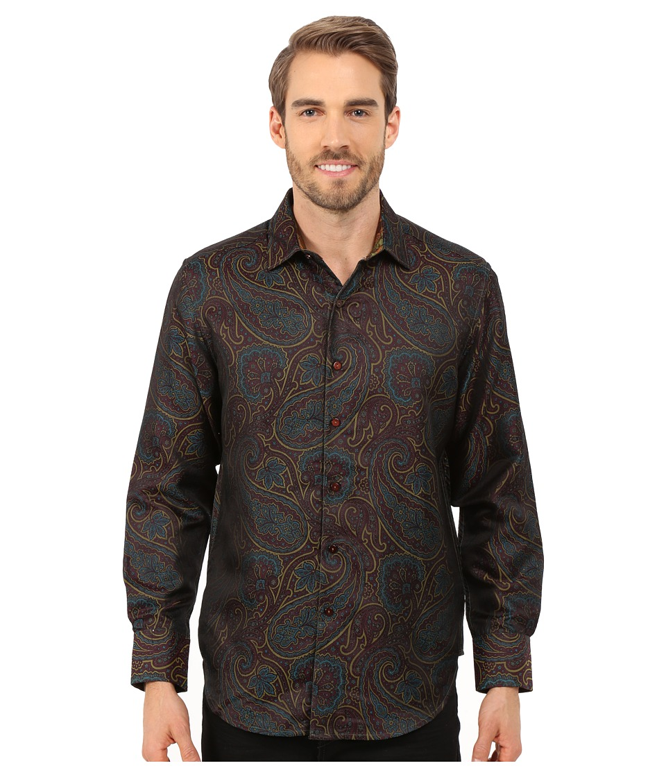 Robert Graham - Jiminy Cricket Limited Edition Woven Shirt (Burgundy) Men's Clothing