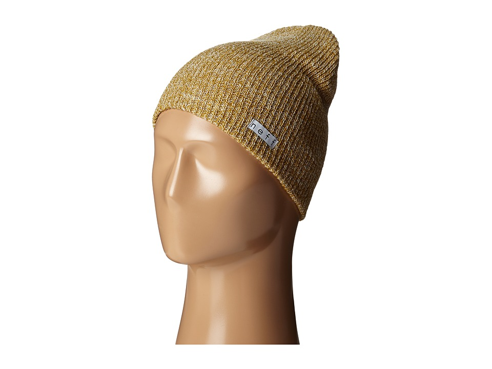 Neff - Daily Heather Beanie (Mustard/White) Beanies