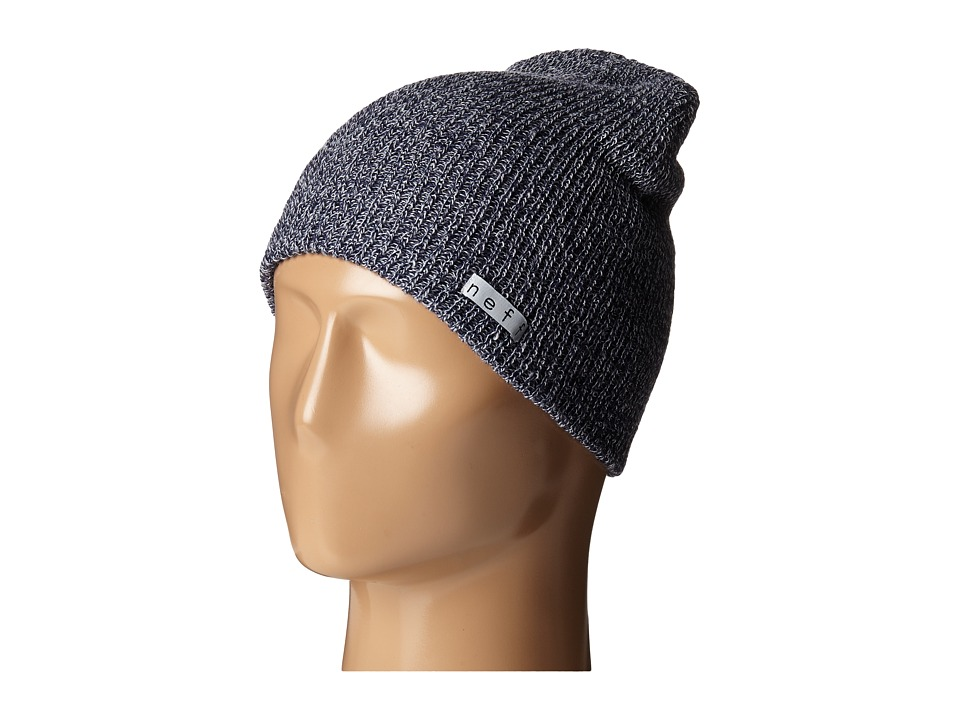 Neff - Daily Heather Beanie (Navy/Grey) Beanies