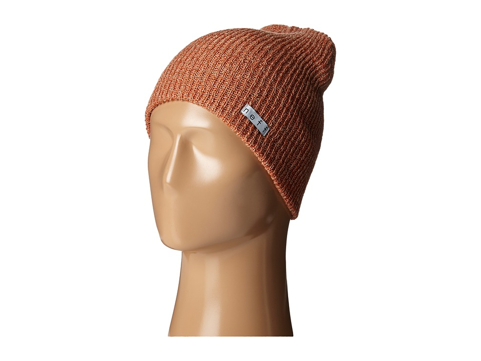 Neff - Daily Heather Beanie (Rust/Khaki) Beanies