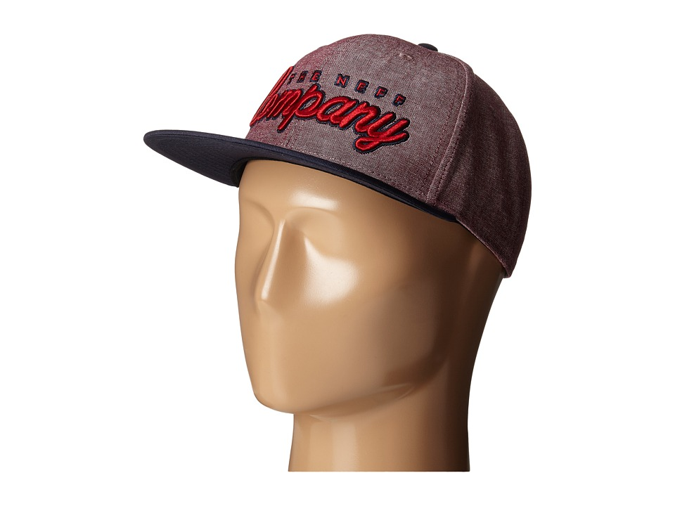 Neff - The Company Cap (Red/Navy) Caps
