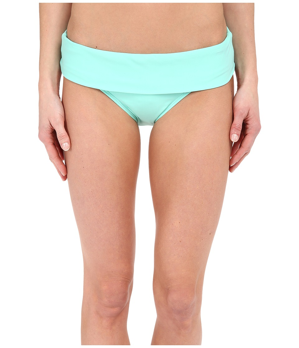 Next by Athena - Good Karma Powerhouse Banded Retro Bikini Bottom (Aquamist) Women's Swimwear